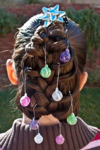 girls christmas hairstyles