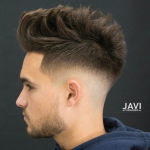 top men's highlights for black hair