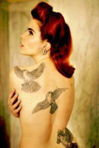 back tattoos girl