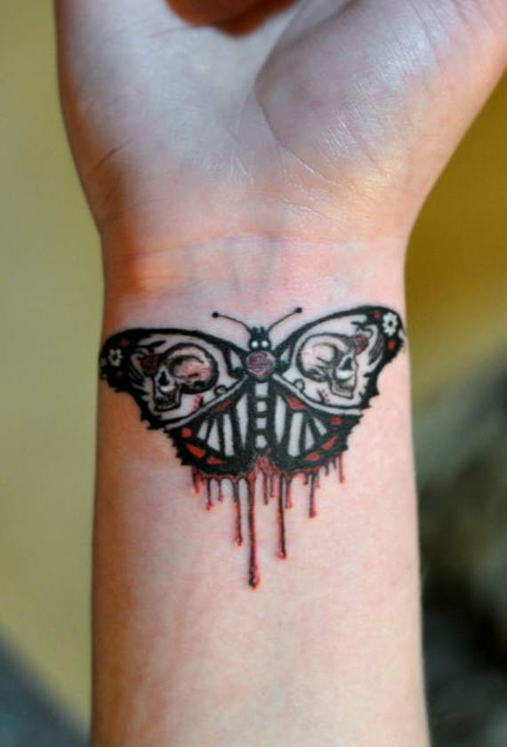 wrist tattoos for females
