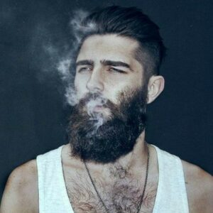 temporary men's goatee beard styles pictures