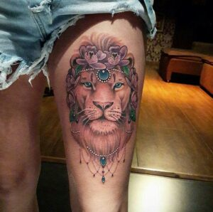 Best Small Girly Lion Tattoos images