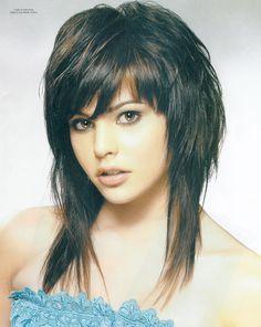 best long  feminine haircuts images 2021