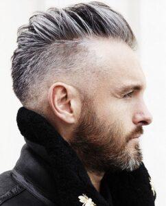 beard styles for v shape face 2021