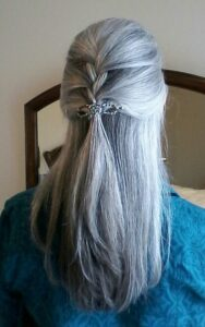 long easy hairstyles for female over 50 images
