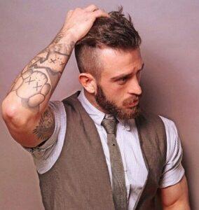 men's trim beard style