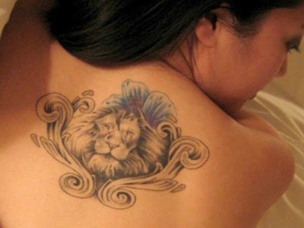 lion tattoo female