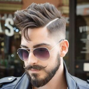 shape of beard for face images