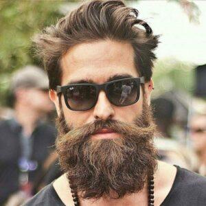 mens full beard styles design images