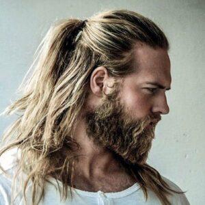 modern viking beard style for strong men
