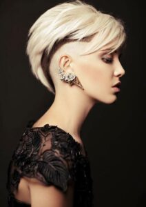 Youthful Short Hairstyles for Women