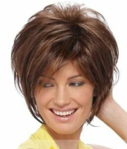 medium length hair women