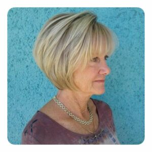 Gorgeous Medium-Length Haircuts for Women Over 50