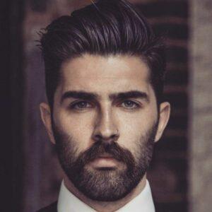 short new beard style for men images