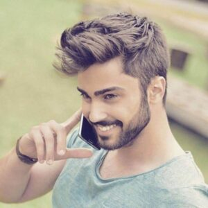 mens light beard styles