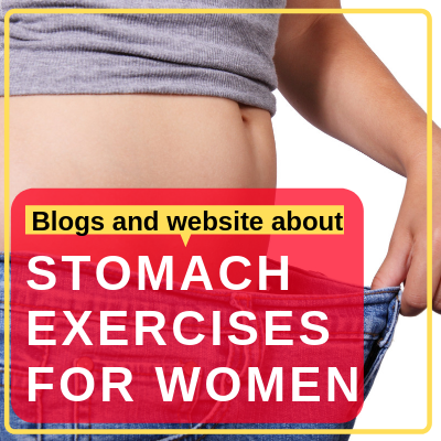 Blogs and website about Flat Stomach Workout at Home for women