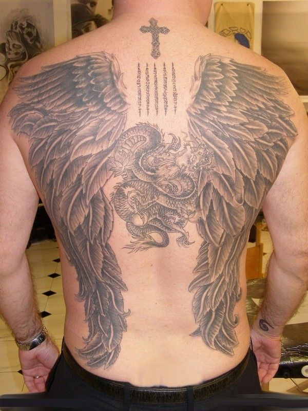 Angel Tattoo Designs That Will Have You Looking