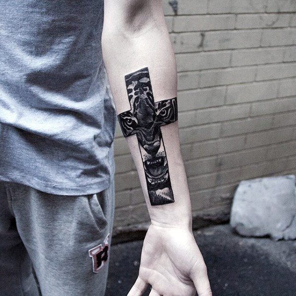 Cross Tattoos for Guys Tattoo Ideas