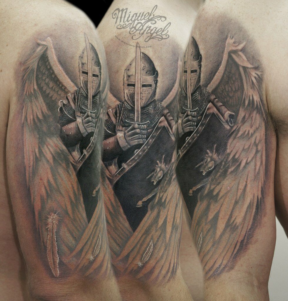 Heavenly Angel Tattoos That Will Make You Believe