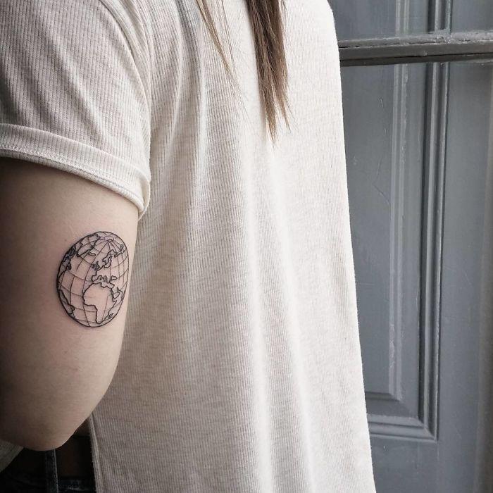 travel tattoo symbols