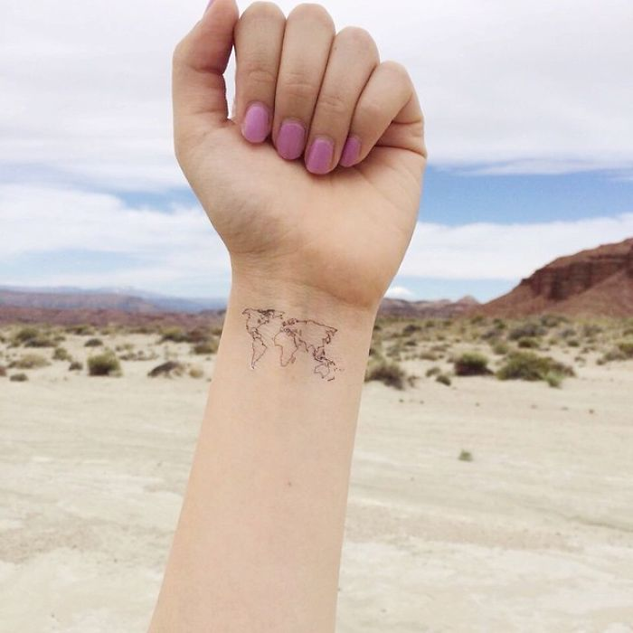 Unique Travel Tattoos to Fuel Your Eternal