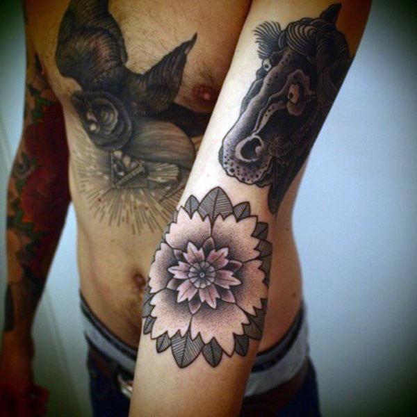 pinterest flower tattoos