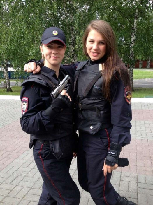 Photos of Beautiful  Police Girls From Russia