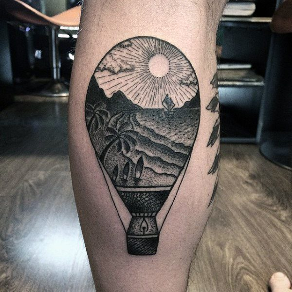 Best Sun Tattoo Designs For Men And