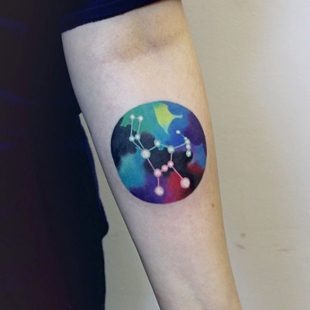 Best Astronomy Tattoo Ideas images for women