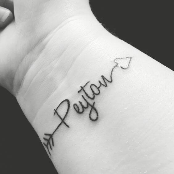 Baby Name Tattoo Ideas for Inked Moms