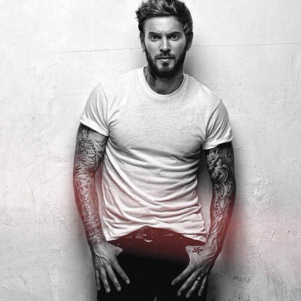 best pictures of short beards