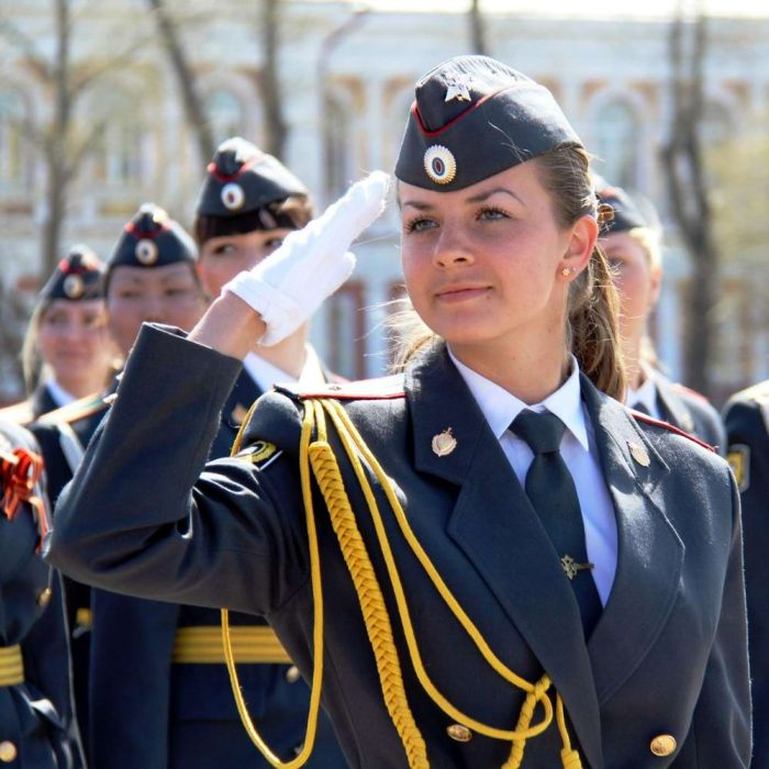 Check out Russia's most beautiful police women