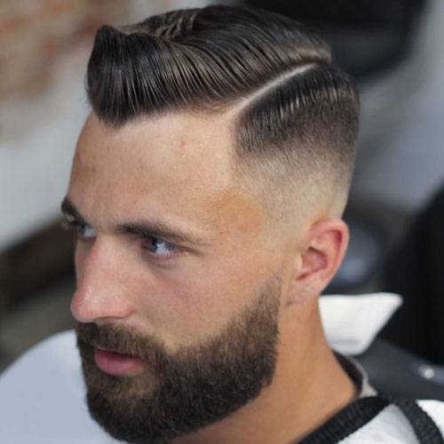 trend of the Top Men's Fades Haircuts