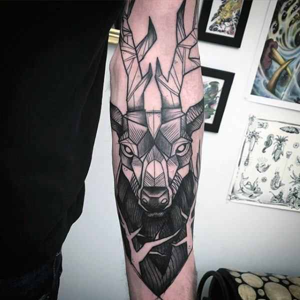 Best Deer hunting Tattoo ideas images