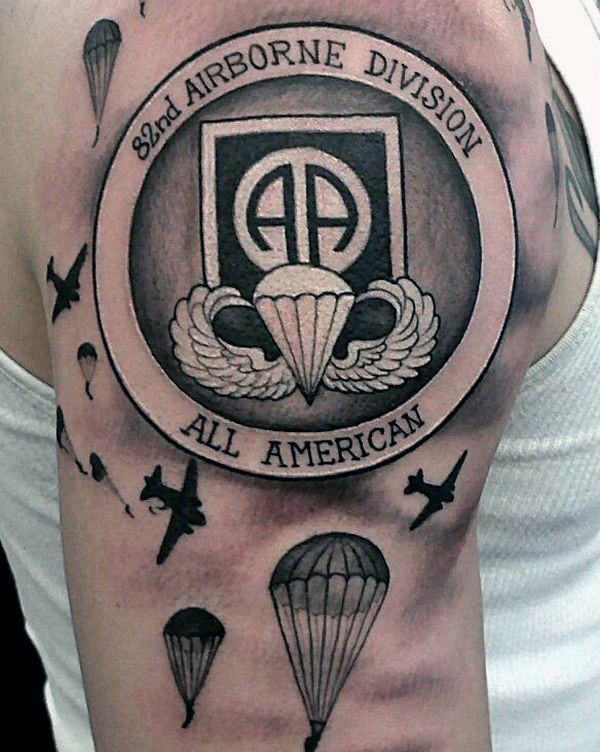 Army Tattoos For Men - Manly Armed Forces