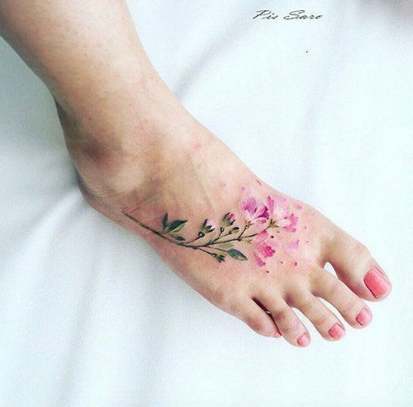 foot tattoos for sisters
