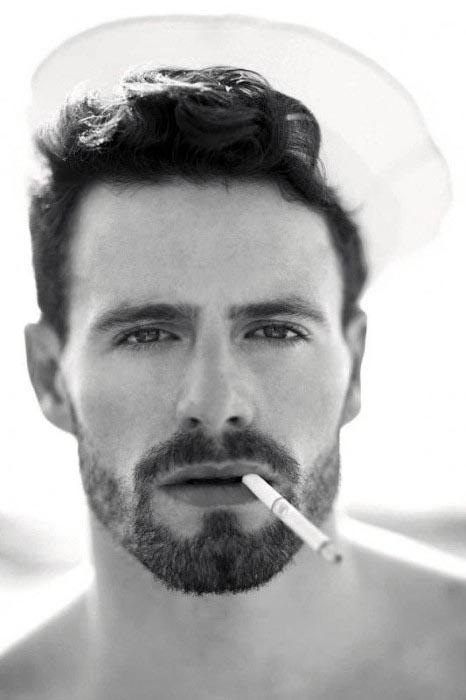 modern short beard styles for men