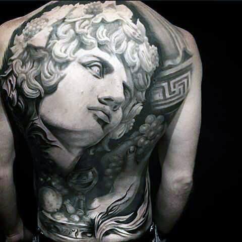 Wonderful Back Tattoo Ideas for Men