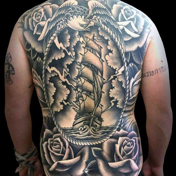 Impressive Back Tattoos That Are Masterpieces