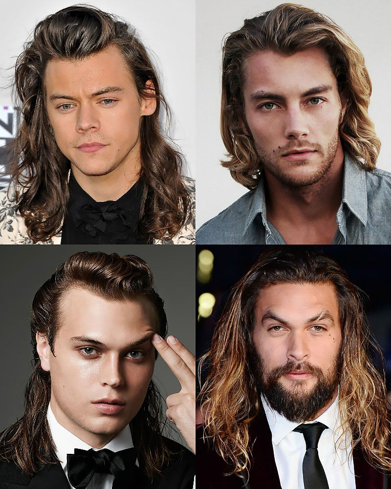 Date Night Worthy Sexy Hairstyles For Long Hair for men and guys
