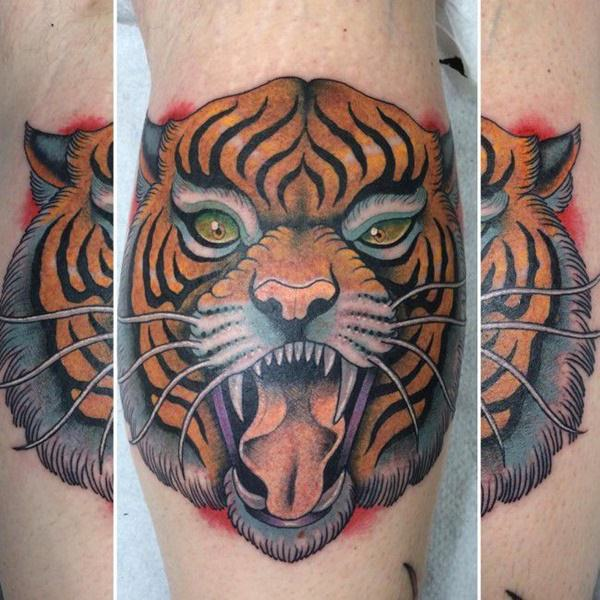 Gorgeous Tiger Tattoo Meanings & Design For Men
