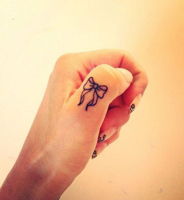 Cute and Discreet Finger Tattoos Designs