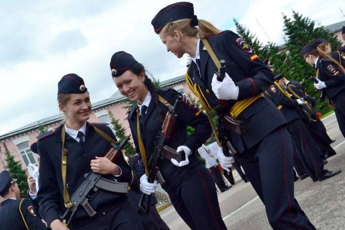 Women in the Russian and Soviet military