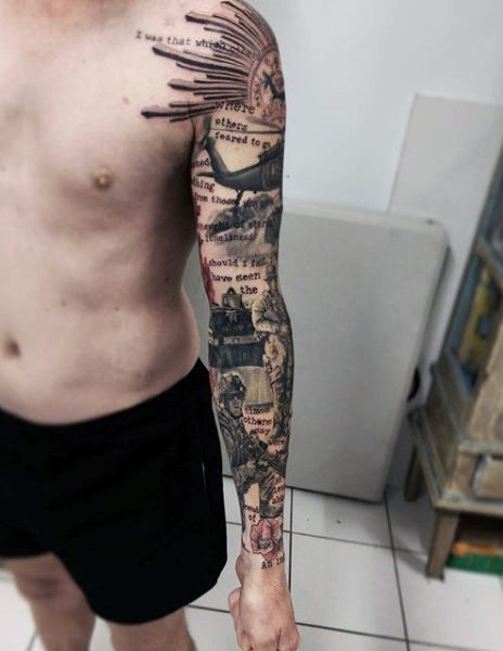 Military tattoos exhibition reveals