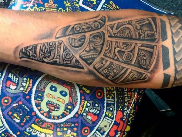 new Aztec Inspired Tattoo Designs For Men