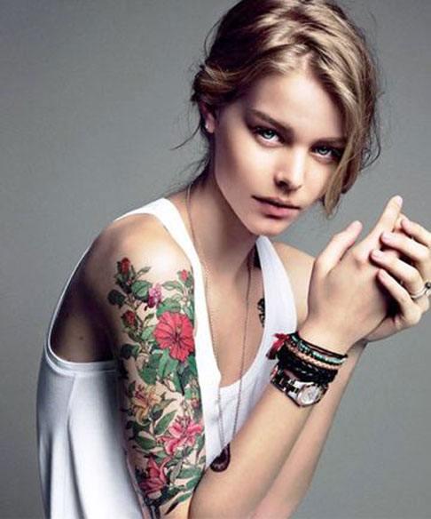 Wholesale Temporary Sleeve Tattoos Women