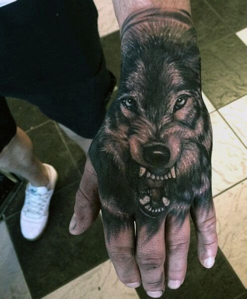 Wolf Tattoo Designs For Men