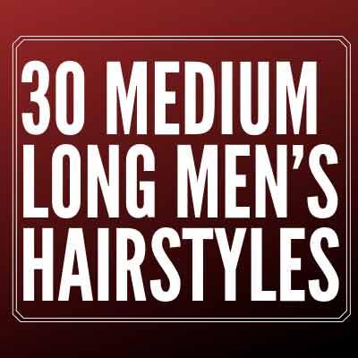 Long Men's Hairstyles