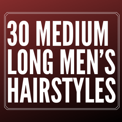 Long Men's Hairstyles