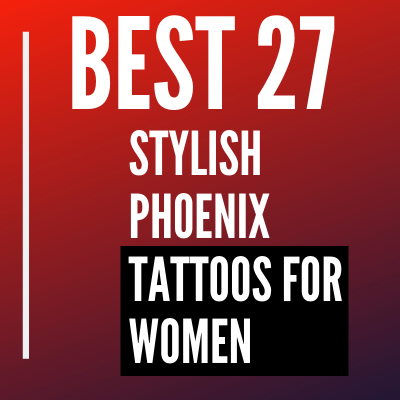 stylish Phoenix Tattoos